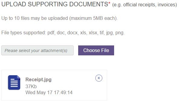 Documents Uploaded