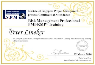 Certificate of Attendance - Risk Management Professional RMP