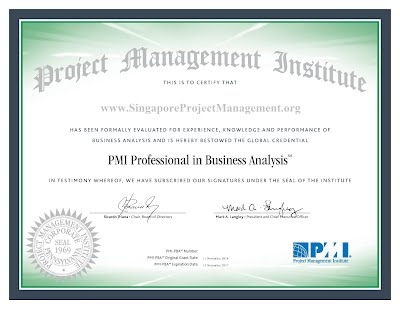 PMI PBA Exam