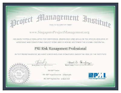PMI RMP Exam